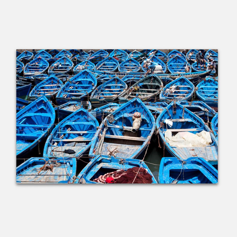 Blaue Boote 1