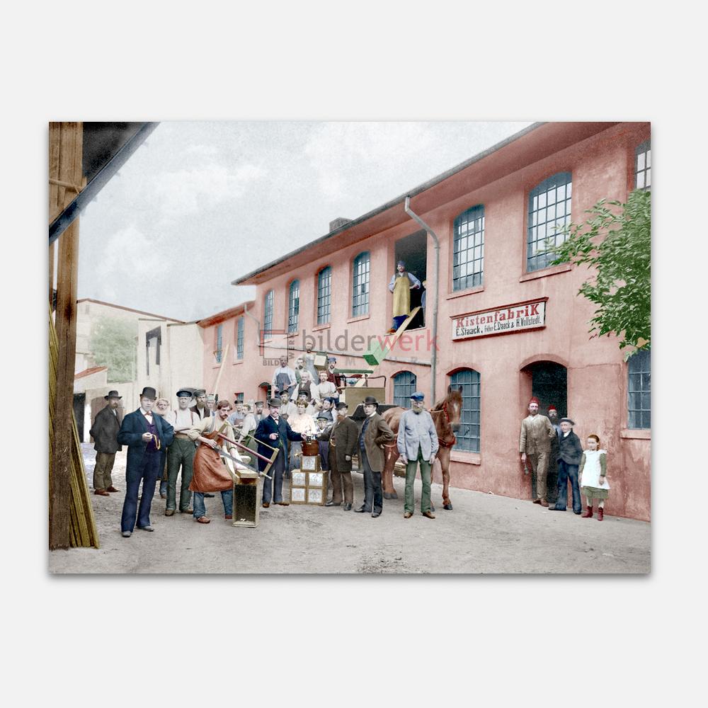 Kistenfabrik in Altona 1