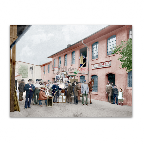 Kistenfabrik in Altona