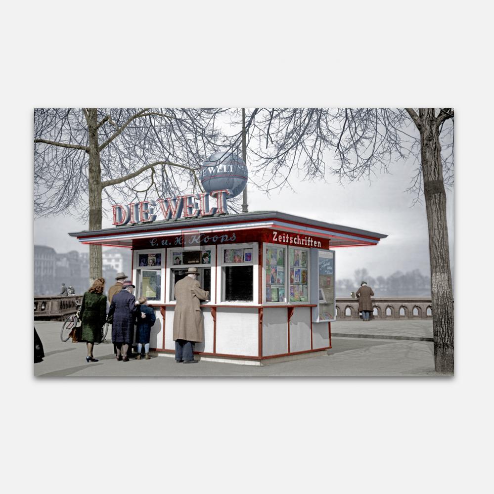 Kiosk am Jungfernstieg 1