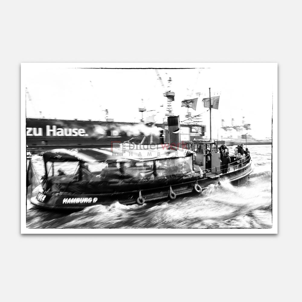 Hamburg – Schwarz auf Weiss 033 1