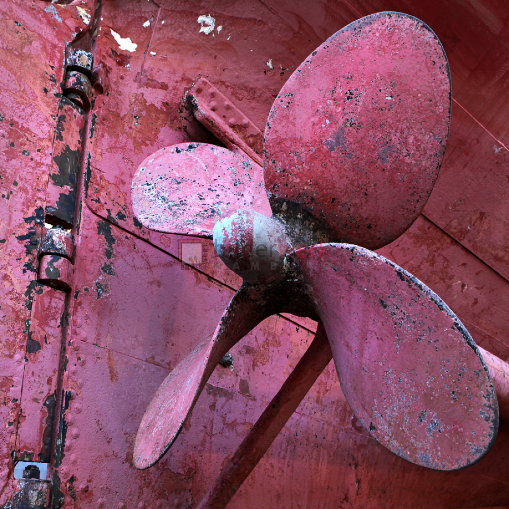 Roter Propeller 1