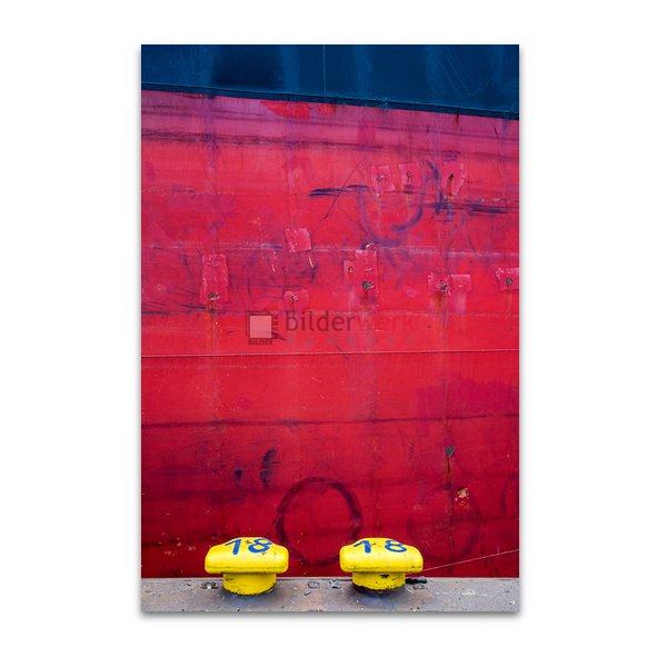 Gelbe Poller
