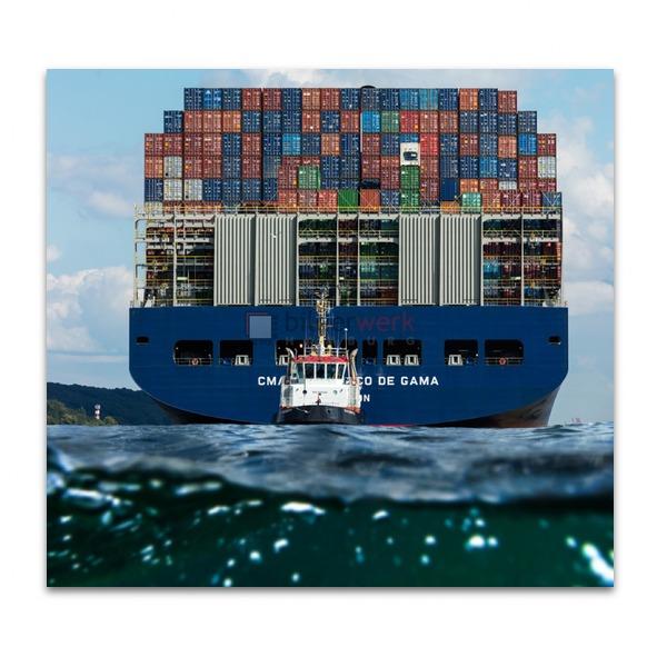 Containerschiff Waterkant