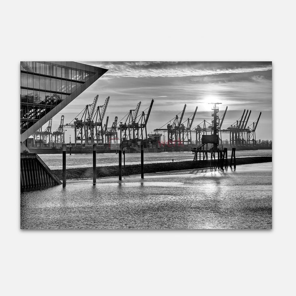 Hamburg – Schwarz auf Weiss 044 1