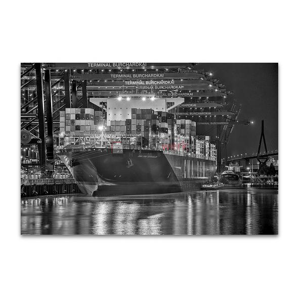 Hamburg - Schwarz auf Weiss 054