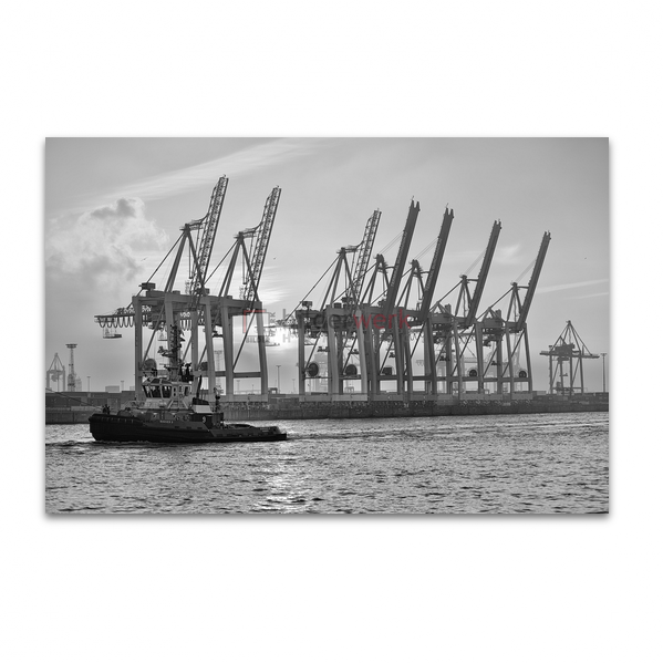 Hamburg - Schwarz auf Weiss 071