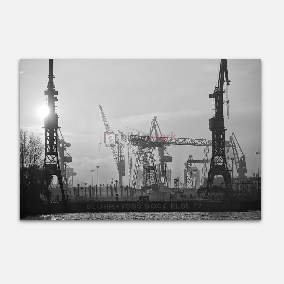 Hamburg – Schwarz auf Weiss 073 1