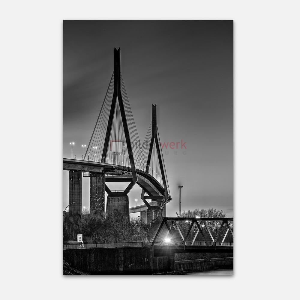 Hamburg – Schwarz auf Weiss 081 1