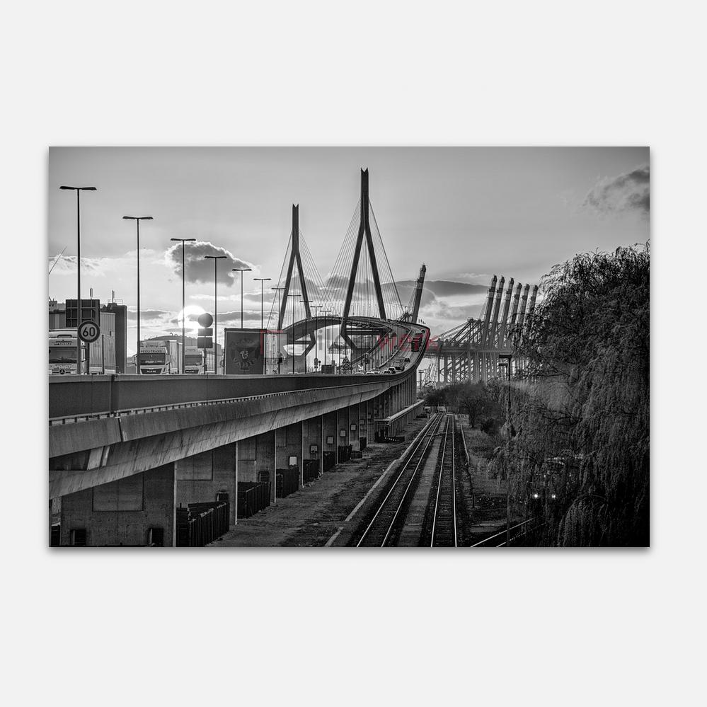Hamburg – Schwarz auf Weiss 084 1