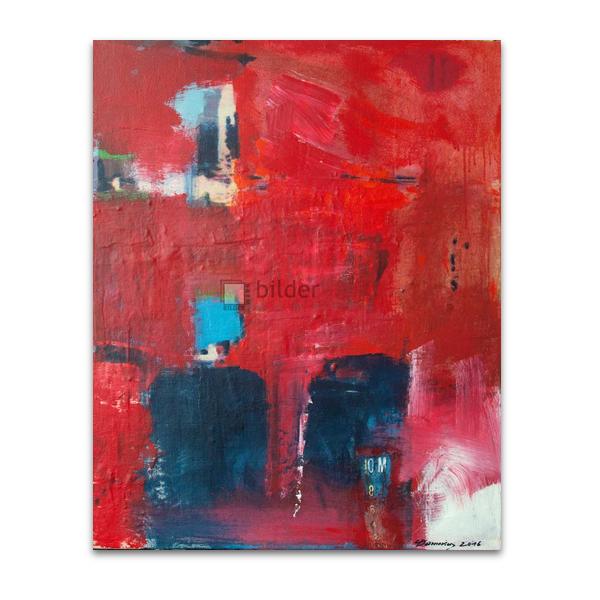 Rote Schiffswand