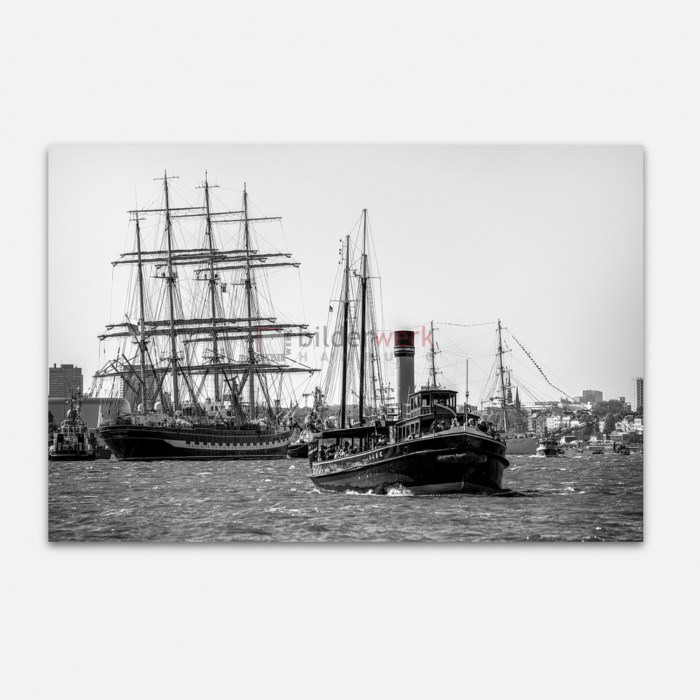 Hamburg – Schwarz auf Weiss 047 1