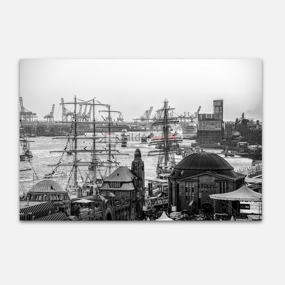 Hamburg – Schwarz auf Weiss 051 1