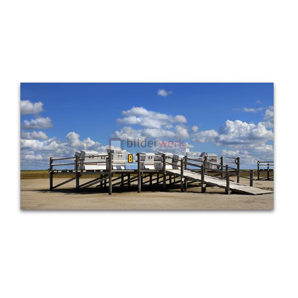 Strandkörbe auf Pfahlbau 02