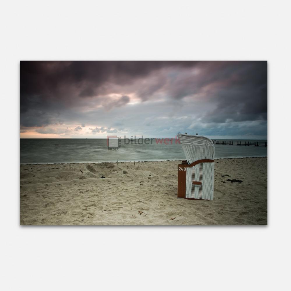 Strandkorb an der Nordsee 1