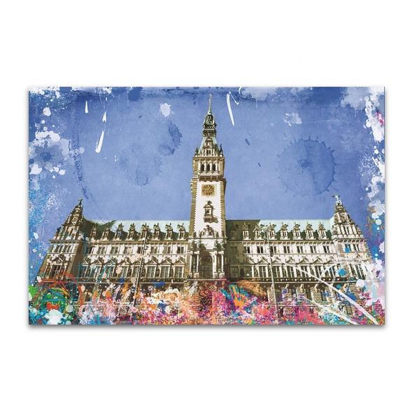 Splashing Rathaus