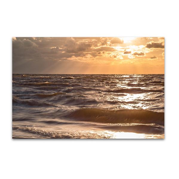 Wellen am Morgen