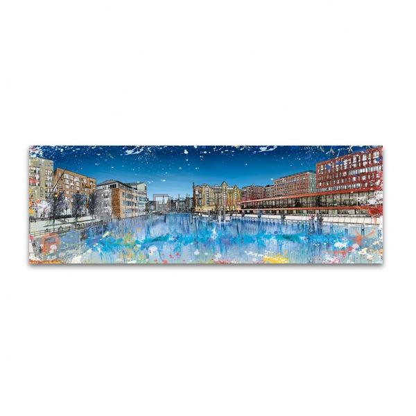 Splashing HafenCity