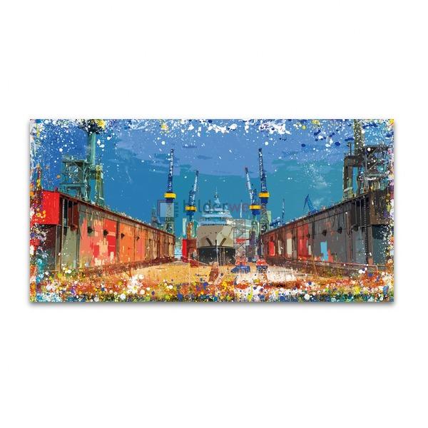 Splashing Dock