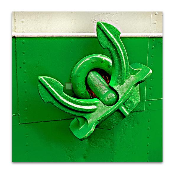 Grüner Anker