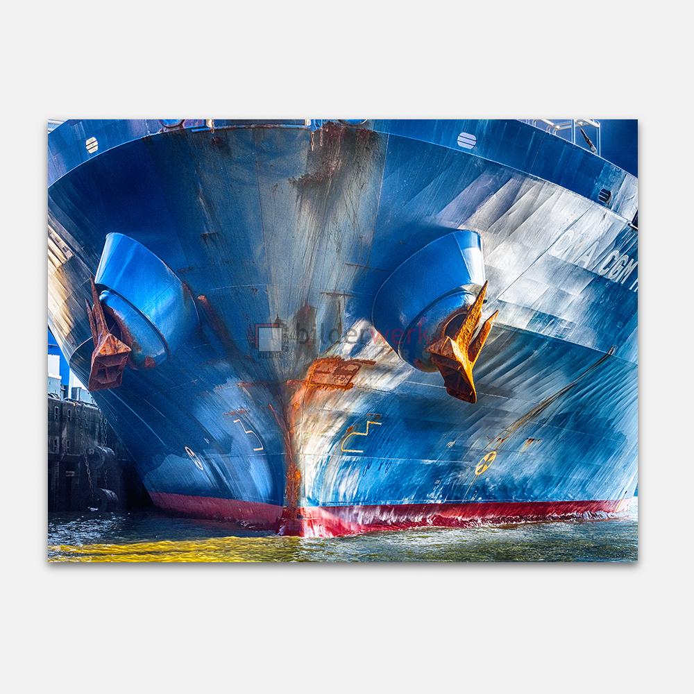 Rostanker an Blauschiff 1