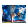 Rostanker an Blauschiff