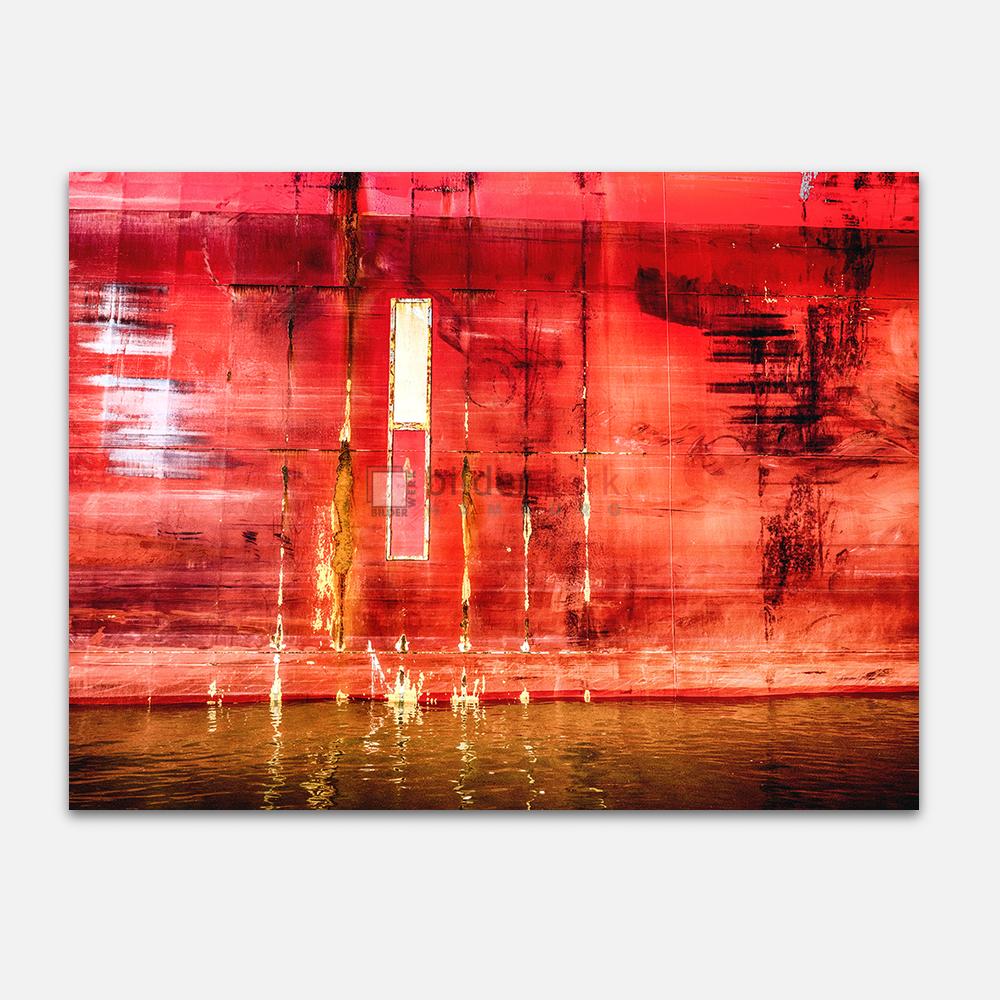 Rote Bordwand 1
