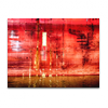 Rote Bordwand