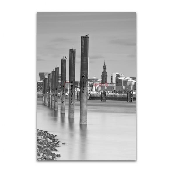 Hamburg - Schwarz auf Weiss 064