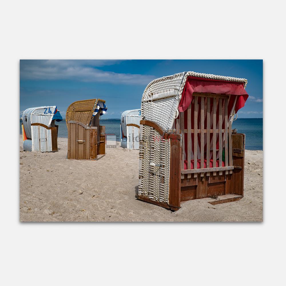 Verschlossene Strandkörbe 1