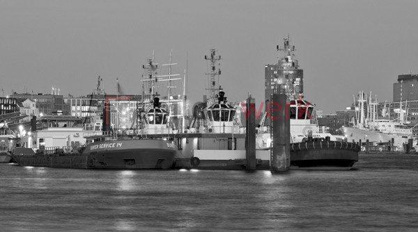 Hamburg - Schwarz auf Weiss 065