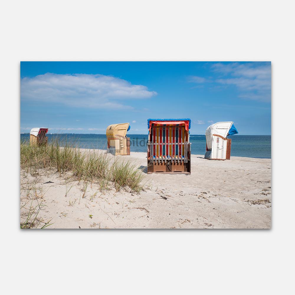 Bunter Strandkorb 1