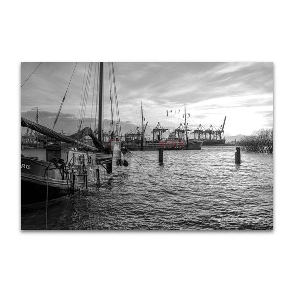 Hamburg - Schwarz auf Weiss 080