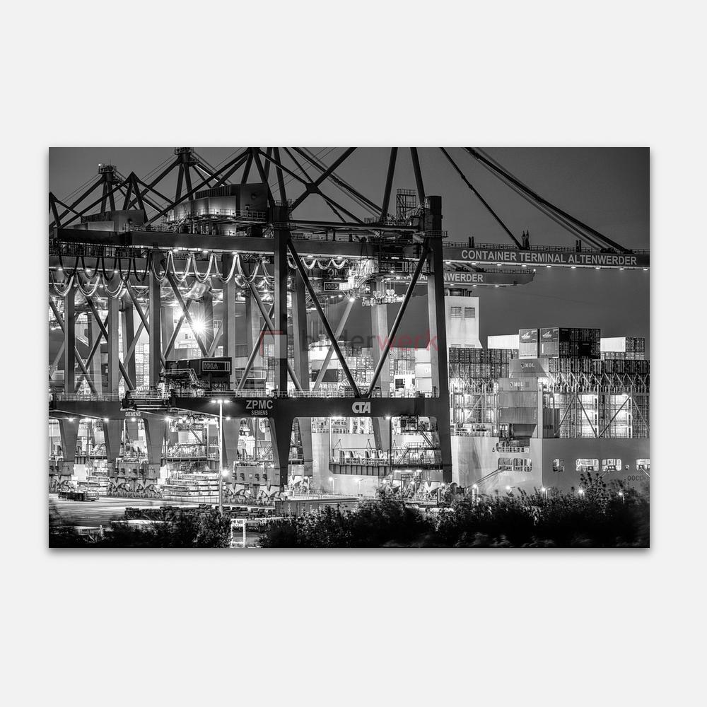 Hamburg – Schwarz auf Weiss 070 1