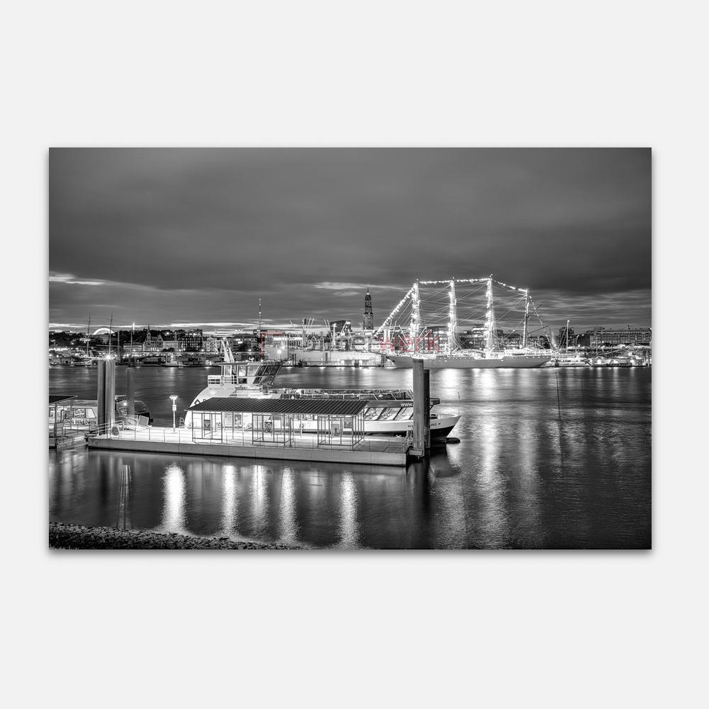 Hamburg – Schwarz auf Weiss 128 1