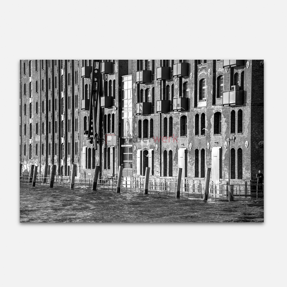 Hamburg – Schwarz auf Weiss 087 1
