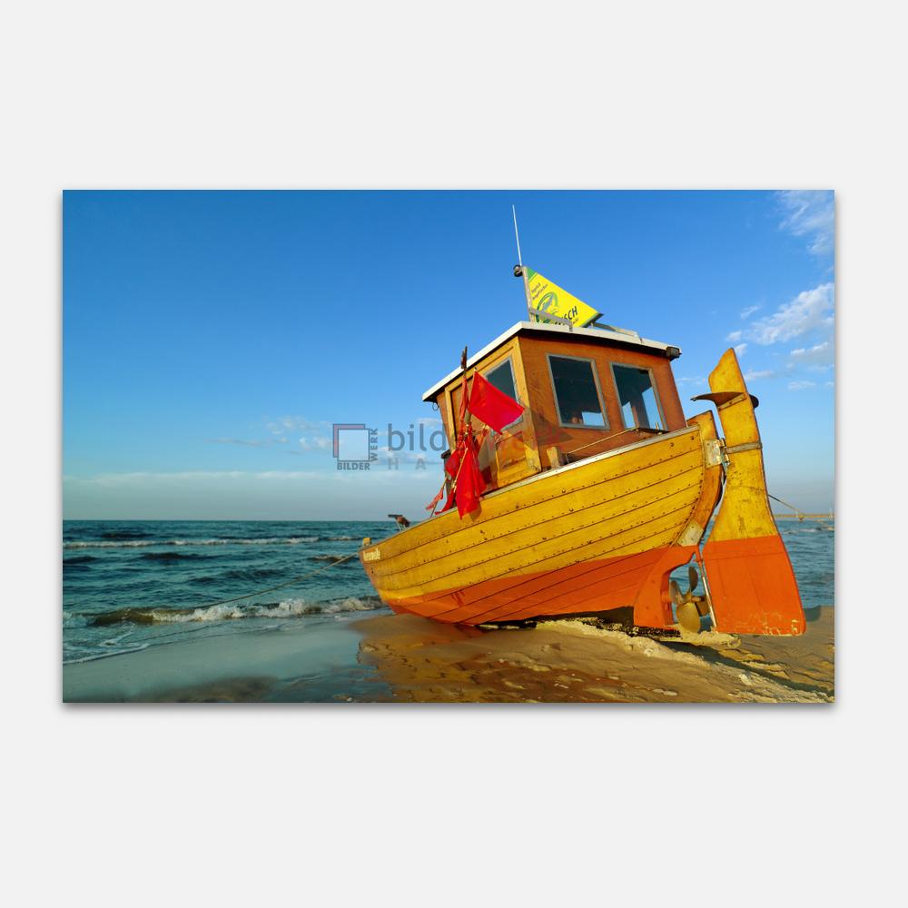 Fischerboot auf Usedom 1