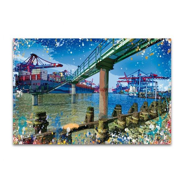 Splashing Containerhafen